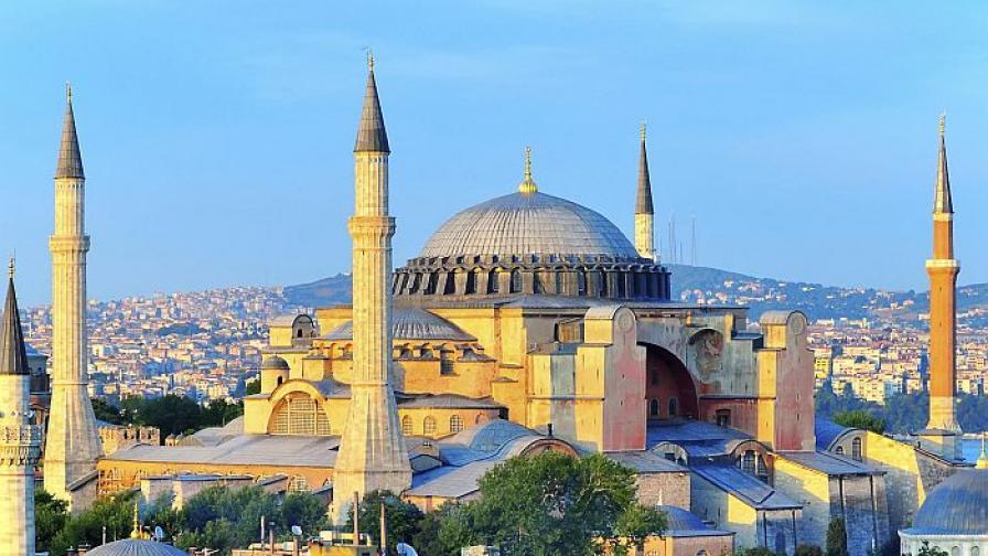 """Русия: Турция да върне """"Света София"""" на християните"""