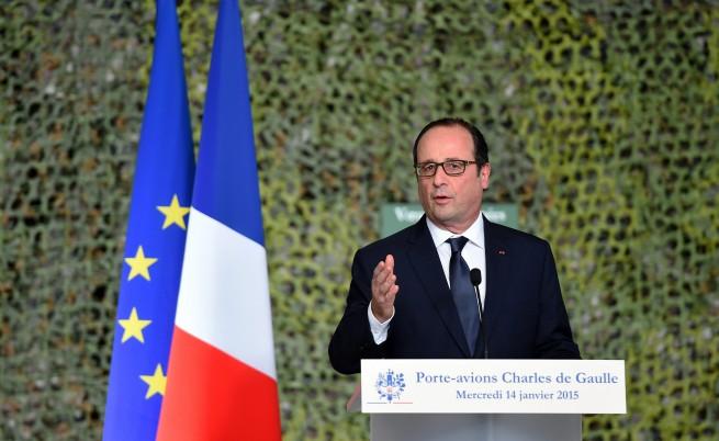 """Франция и Русия се съюзиха срещу """"Даеш"""""""