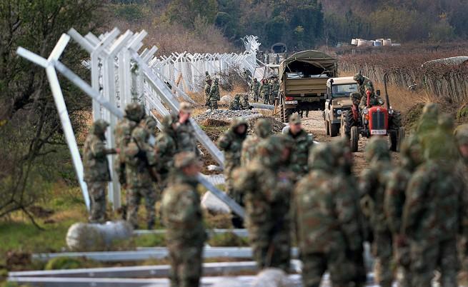 Македонската полиция навлезе на гръцка територия