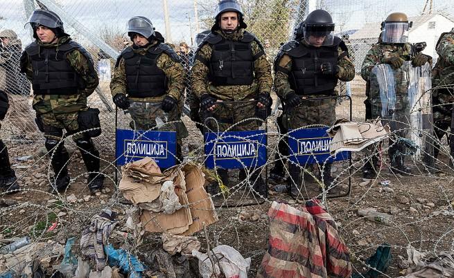 Скопие прати подкрепления от специалните части на границата с Гърция