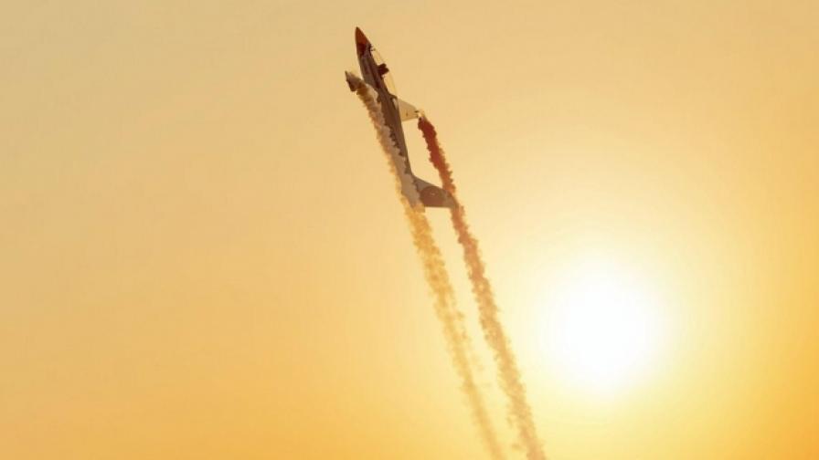 Най-добрият акробатичен пилот в действие (видео)