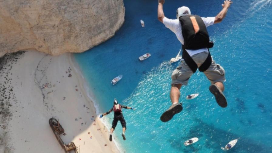 Страховити скачания от високо (видео)