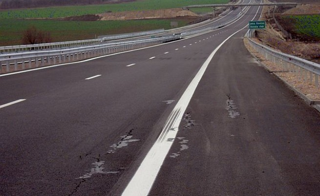 Пропука се новооткритата магистрала