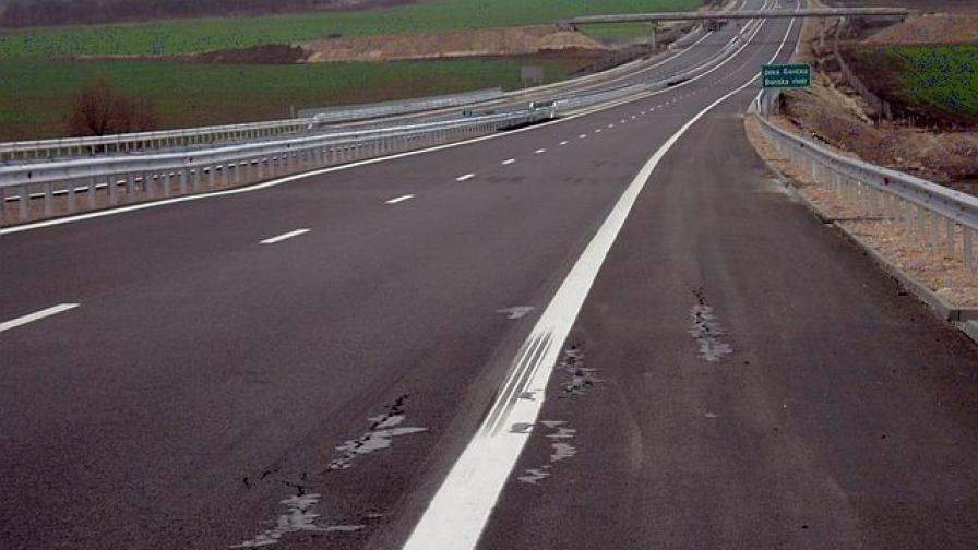 """Пропука се новооткритата магистрала """"Марица"""" (снимки)"""