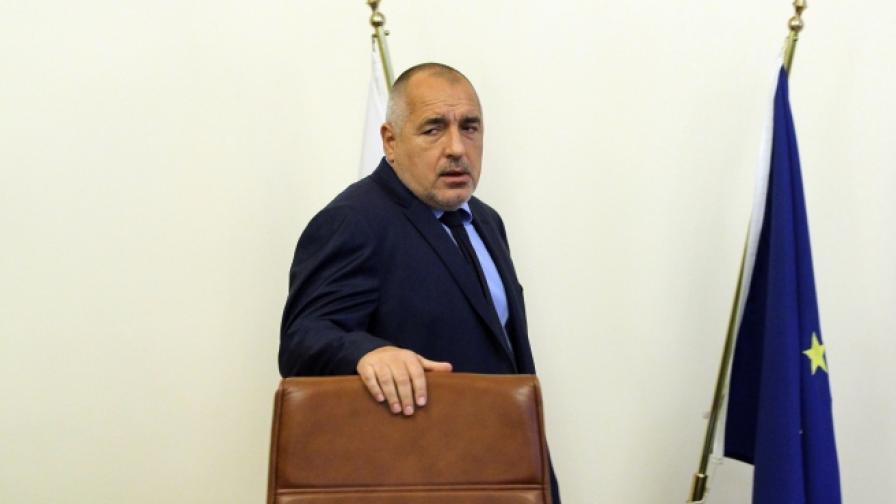 Борисов е разпоредил да се спрат големи обществени поръчки