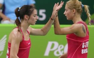 Стефани и Габриела Стоеви се класираха за четвъртфиналите на европейското