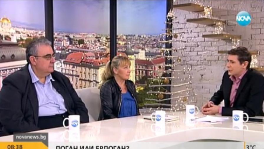 Елена Йончева и Огнян Минчев в спор за ДПС