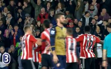 Мартина с изключителен гол срещу Арсенал