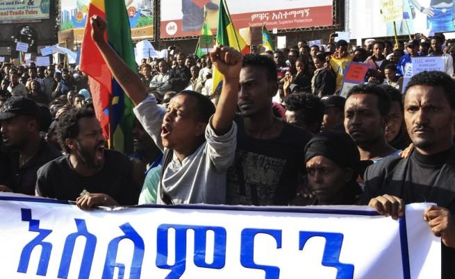 Етиопия на ръба на гражданска война