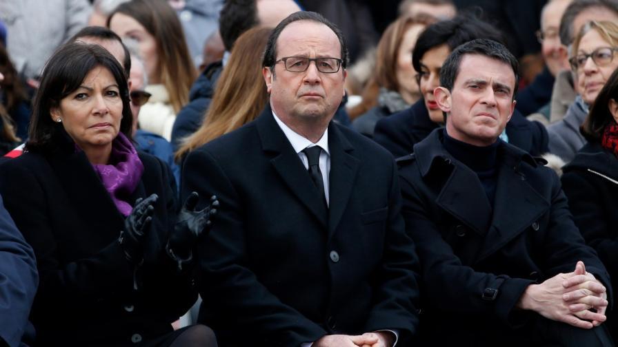 Франция скърби година след кървавите атентати в Париж