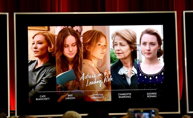 Номинираните за най-добра актриса