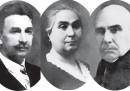 Иван, Мария и Христо Кесякови (от ляво на дясно)