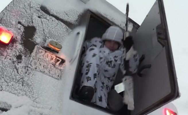 Ето как руската армия се подготви за зимата