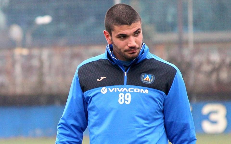 Още един футболист се раздели с Левски