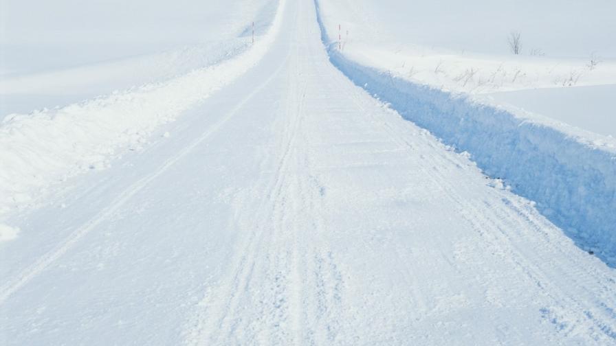 А в Естония шофират дори върху леда на Балтийско море