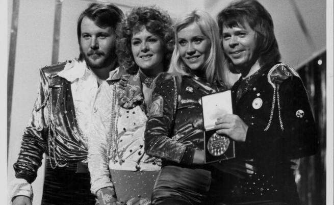 АББА след спечелването на Евровизия през 1974 г.