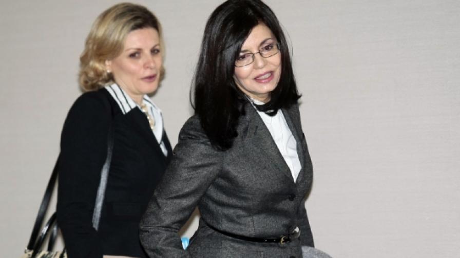 Меглена Кунева и Мирия Василиаду на Национална работна среща за противодействието на трафика на хора и закрила на жертвите