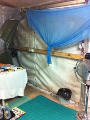 Условията в лагера в Науру
