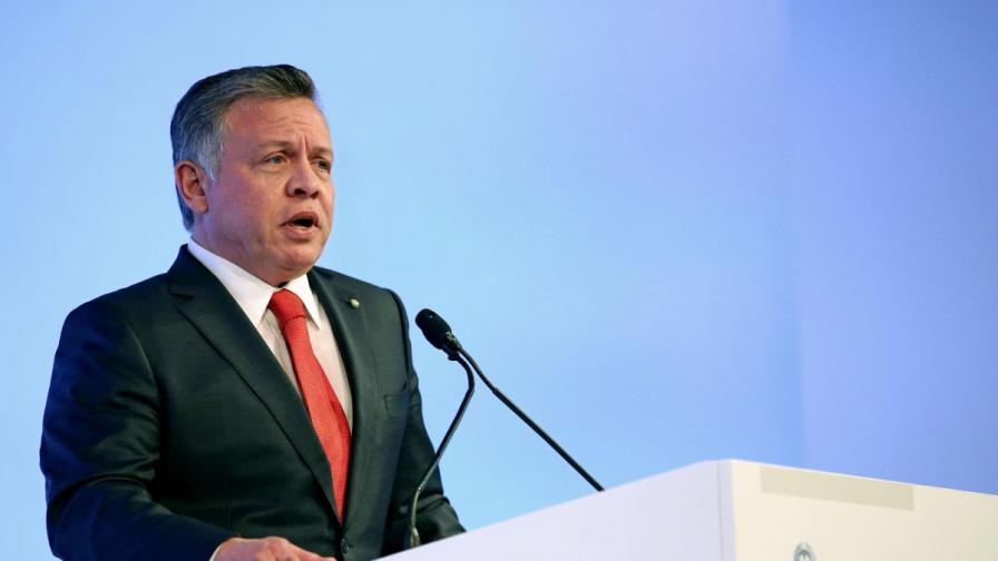 Кралят на Йордания заплаши Израел