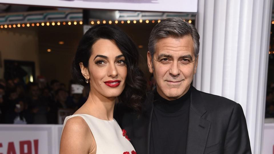 Потвърдено: Джордж Клуни и Амал Аламудин очакват близнаци!