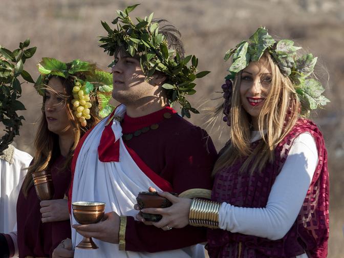 Божествата Сабазий Загрей Дионис Бакхус свети Трифон традиция Илинденци зарязаха