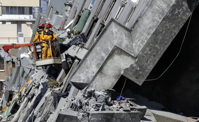 Силно земетресение с магнитуд 6,4 разтърси южната част на Тайван на 5 февруари