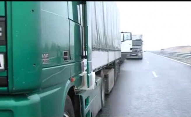Блокадата на границата с Гърция е проблем основно за България