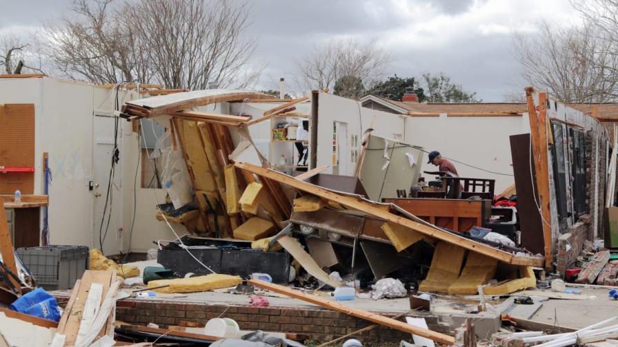 Мощна система от бури уби 7 души в САЩ