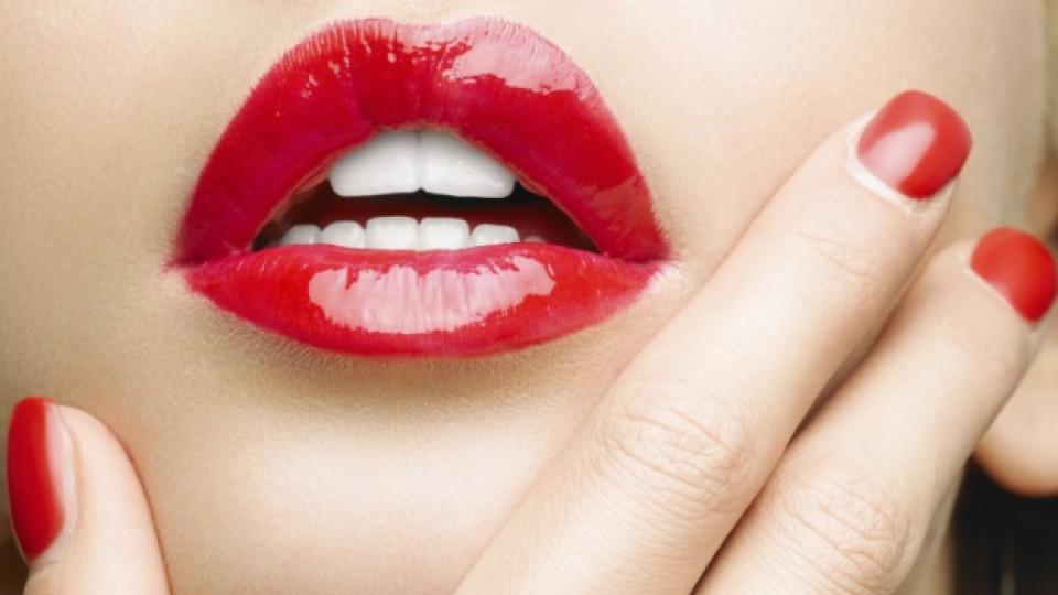 Блондинките, които направиха червеното червило легенда