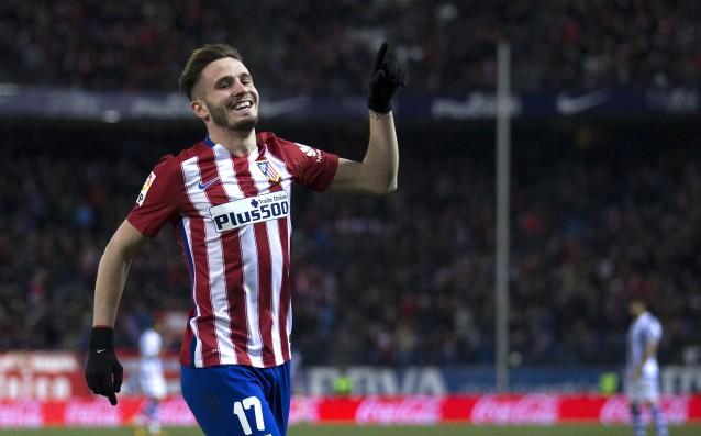Футболистът на Атлетико Мадрид Саул Нигес попадна в полезрението на