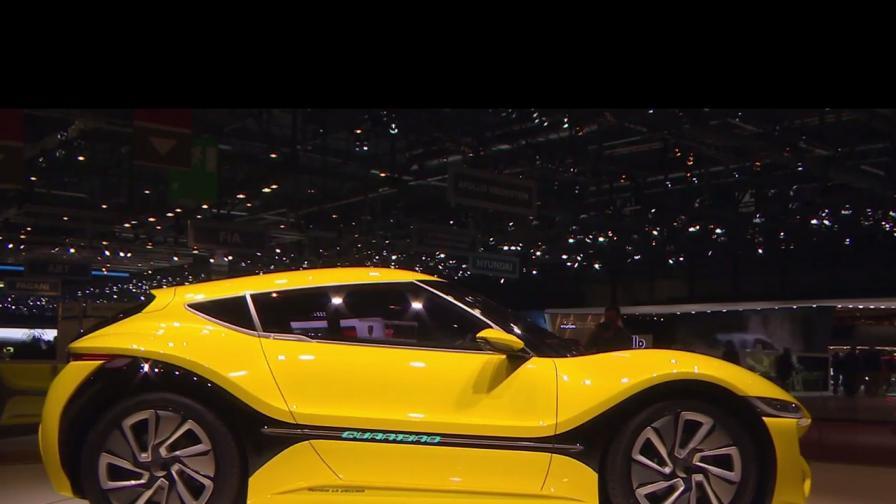 Първата нисковолтова кола в света