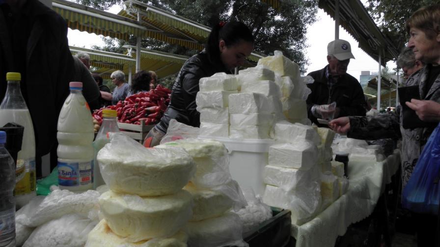 Българско сирене, но с унгарско мляко