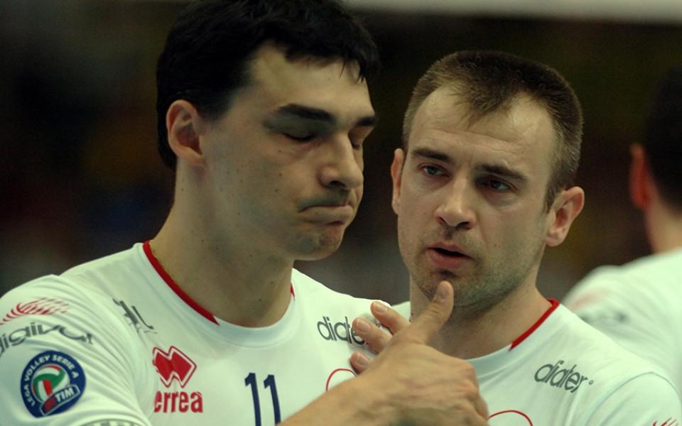 Легендата на сръбския и световен волейбол - Владимир Гърбич даде