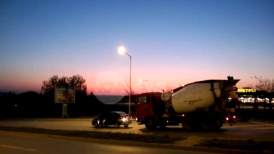 Побой над шофьор на бетоновоз край Варна