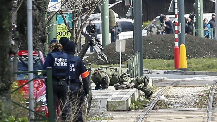Два дни Белгия издирвала мъртъв атентатор