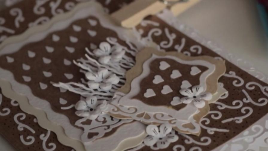 Красиво и ефектно: Направете си сами хартиена дантела