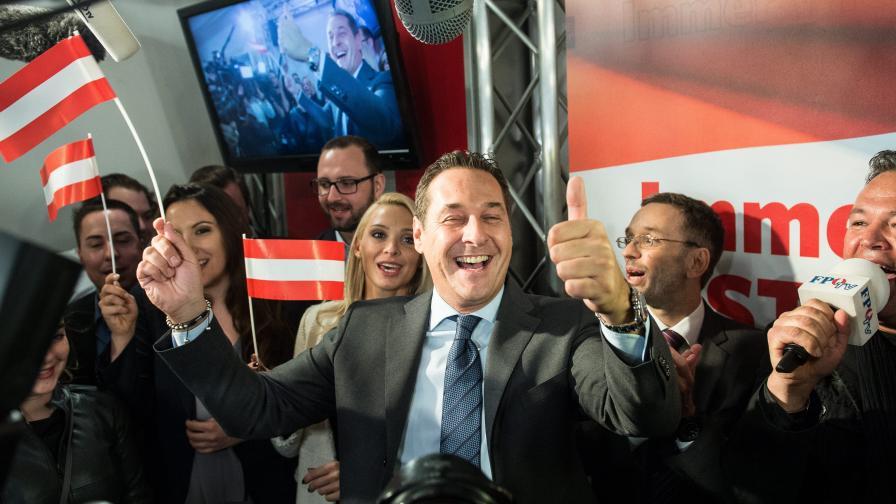 Австрийците гласуваха за президента на крайнодесните