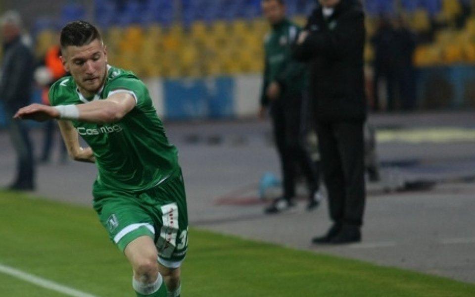 Лудогорец удължи наема на свой футболист