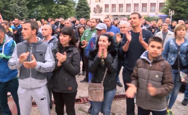 Протестиращите от Раднево поставят исканията си