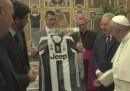 Папа Франциск благослови Милан и Ювентус