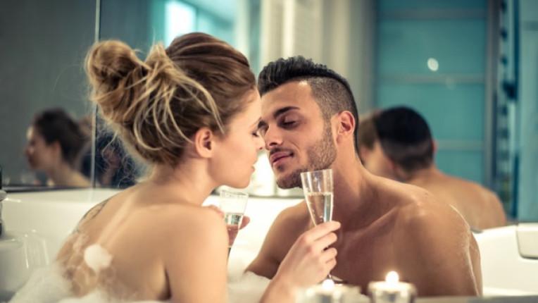 двойка баня секс