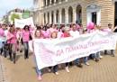 Ела на поход срещу рака на гърдат на 4 юни