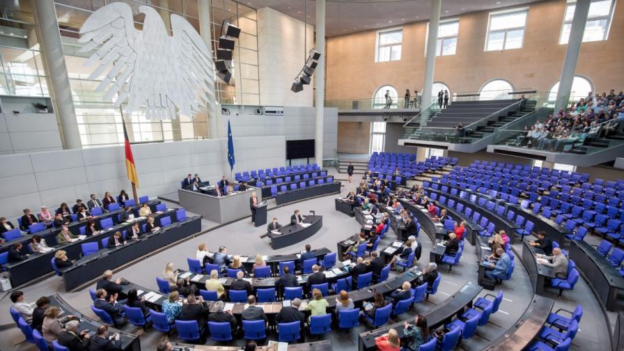 Заседанието в Бундестага