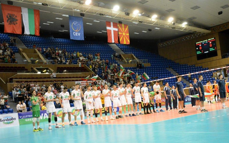 Загуба за България от Македония в Евролигата