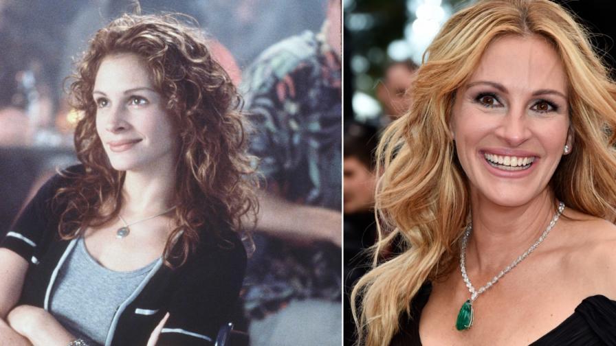 Машина на времето: Известни актриси преди и сега