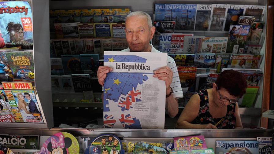 """Британците масово питат в """"Гугъл"""": Какво е ЕС?"""