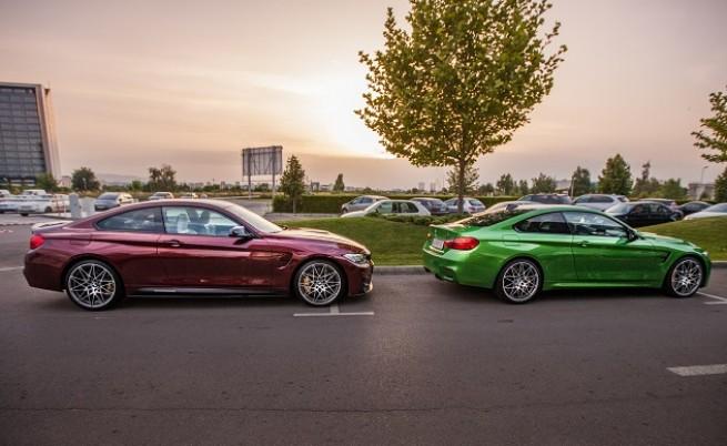 М3 и М4 бяха докоснати от всичко специално в гамата на BMW M GmbH: аксесоари M Performance и пакети Individual и Competition. Адска визия и допълнителни 19 к.с. до 450.