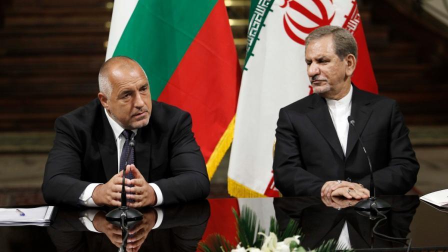 Борисов: Получихме интересно предложение от Иран
