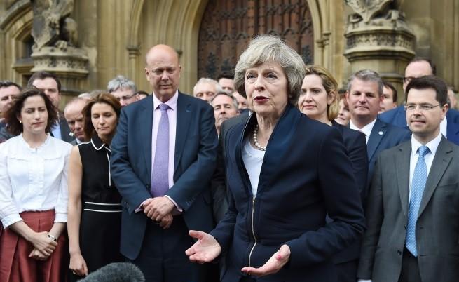Новият премиер на Великобритания Тереза Мей -