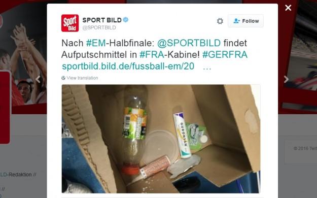 Смешни обвинения от Германия: Французите използвали допинг!